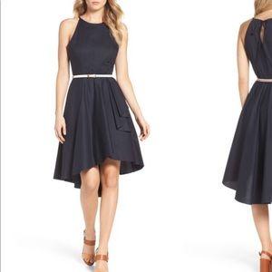 Eliza J High/Low Navy dress size 4P